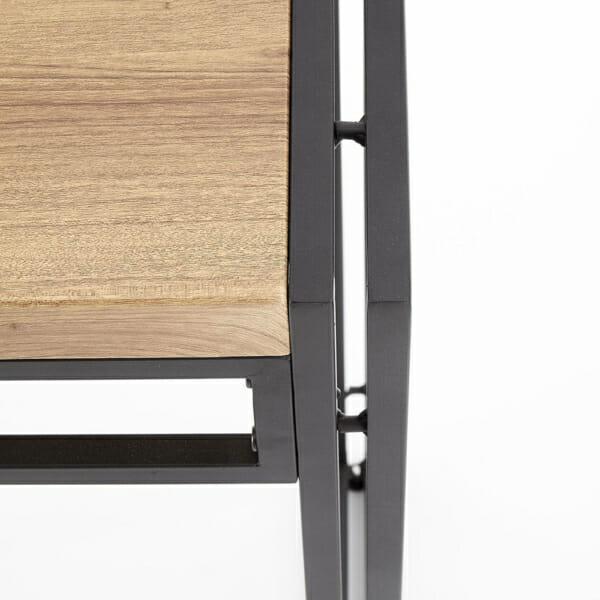 Трапезен комплект маса с 6 стола серия Bolivar-детайл плот