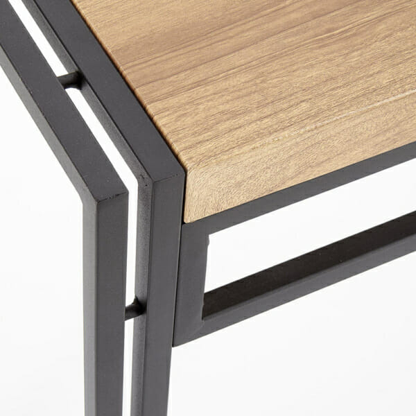 Трапезен комплект маса с 6 стола серия Bolivar-детайл ъгъл