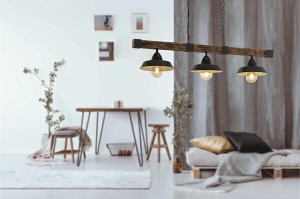 Пендел в индустриален стил серия Oldbury (2 варианта) - интериорна