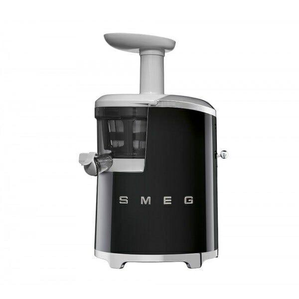 Бавнооборотна сокоизстисквачка SMEG (4 цвята) - черна