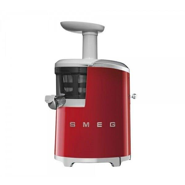 Бавнооборотна сокоизстисквачка SMEG (4 цвята) - червена