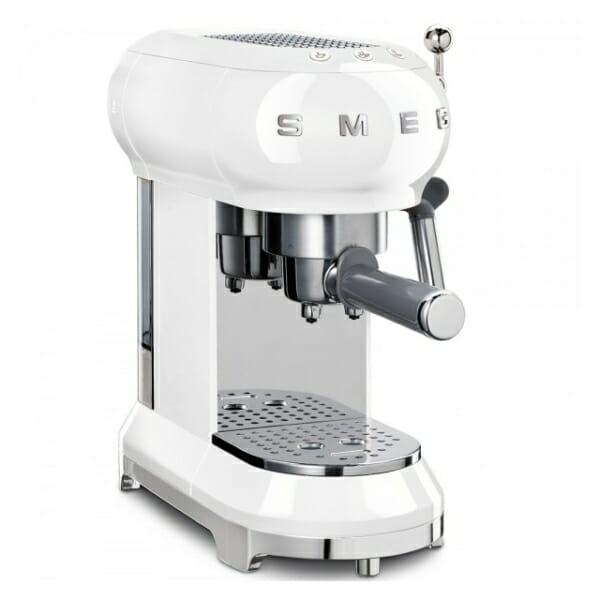 Кафемашина за еспресо SMEG (7 цвята) - бял
