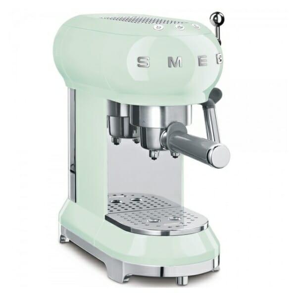 Кафемашина за еспресо SMEG (7 цвята) - пастелнозелен