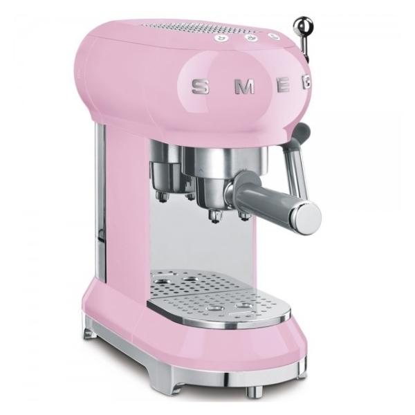 Кафемашина за еспресо SMEG (7 цвята) - розов