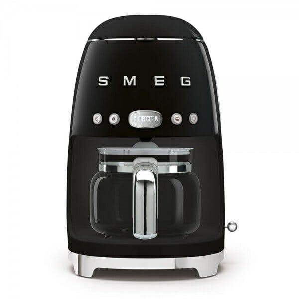 Кафемашина за шварц кафе с ретро дизайн SMEG (7 цвята) - черен