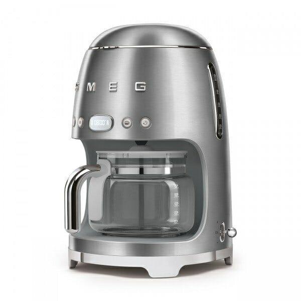 Кафемашина за шварц кафе с ретро дизайн SMEG (7 цвята) - странично