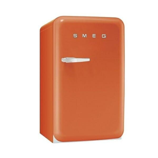 Мини хладилник с ретро дизайн SMEG (4 цвята)