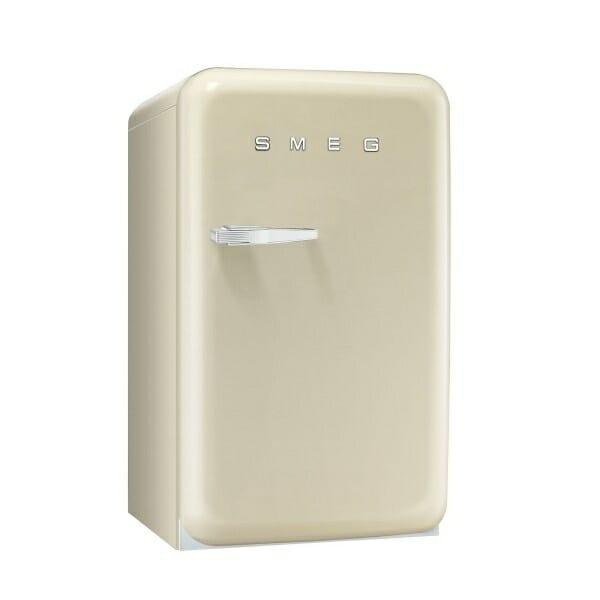 Мини хладилник с ретро дизайн SMEG (4 цвята) - крем