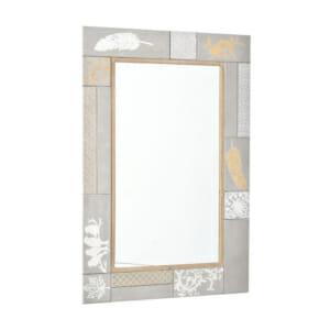 Правоъгълно огледало с нежна декорация серия Prima