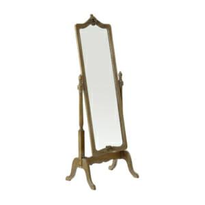Свободностоящо огледало с дърворезба серия Boudoir