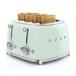 Тостер за 4 филии с ретро дизайн SMEG (7 цвята) - филии