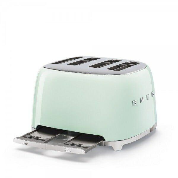 Тостер за 4 филии с ретро дизайн SMEG (7 цвята) - тава