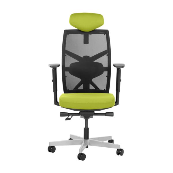 Удобен офис стол с много екстри (6 цвята) - отпред
