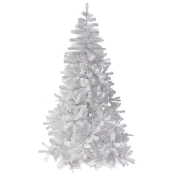 Изкуствена бяла коледна елха