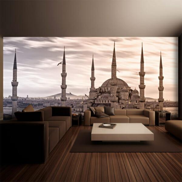 Фототапет XXL с изглед към джамия в Истанбул