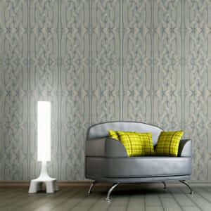 Фототапет XXL с 3D ефект като плетка в бяло