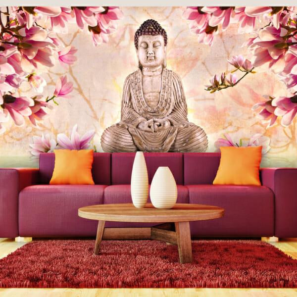 Фототапет XXL - Buddha and magnolia