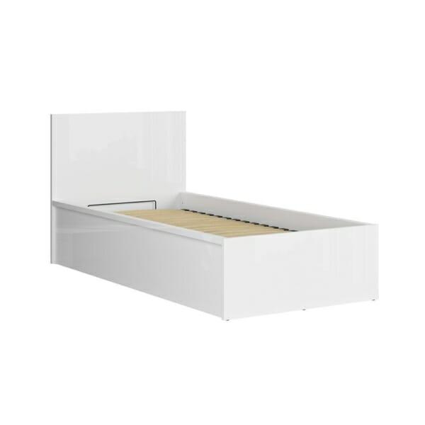 Единично модулно легло Tertrix (вариации) - бял механизъм