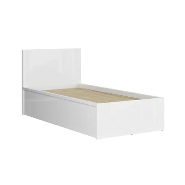 Единично модулно легло Tertrix (вариации) - бяло