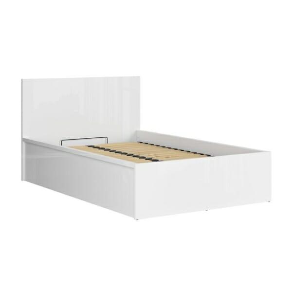 Единично модулно легло Tertrix (вариации) - бяло механизъм