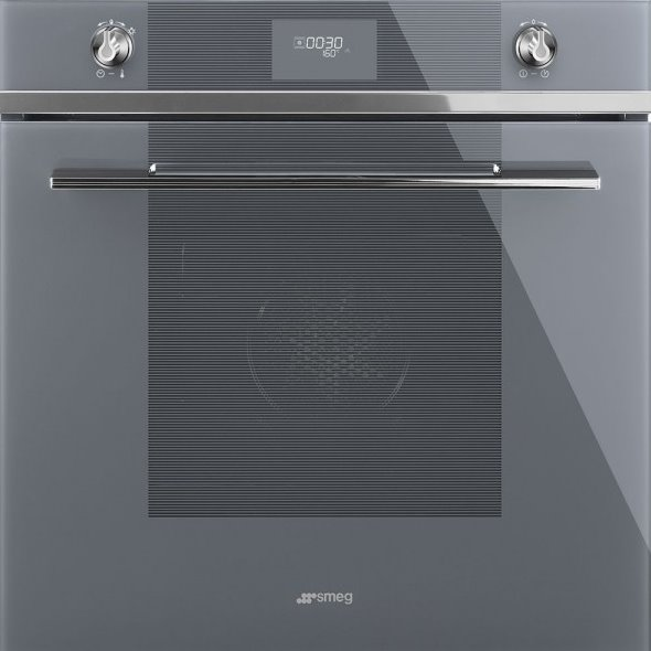 Функционална фурна за вграждане серия Linea, SMEG (3 цвята) - сива