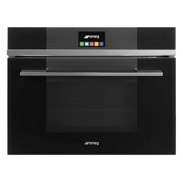 Комбинирана микровълнова печка за вграждане SMEG (2 цвята)