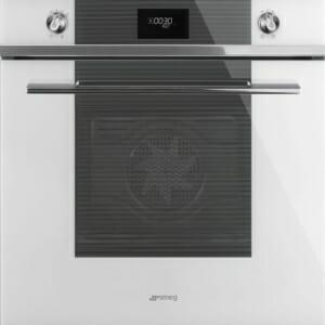 Пиролитична фурна за вграждане серия Linea, SMEG (2 цвята) - бяла