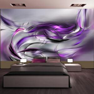 Фототапет за цяла стена Прелюдия в лилаво