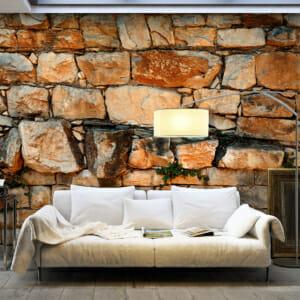 Фототапет XXL с имитация на каменна стена