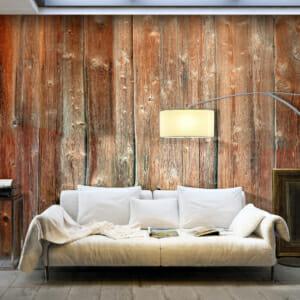 Фототапет XXL имитация на стена от дървени дъски
