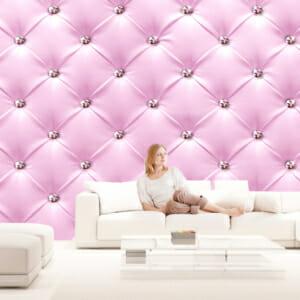 Фототапет за цяла стена Розова Елегантност