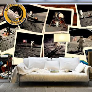 Фототапет XXL със снимки от стъпването на Луната