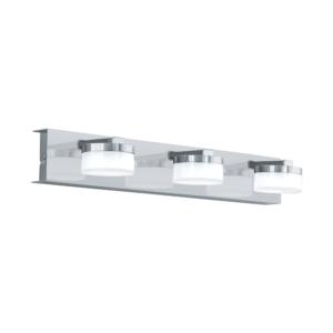 LED аплик от стомана пластмаса и стъкло серия Romendo 1 (3 варианта) - тройка