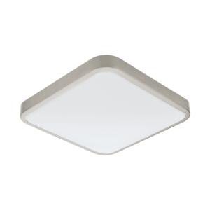 LED аплик за баня с квадратна форма серия Manilva 1 (2 цвята) - никел мат
