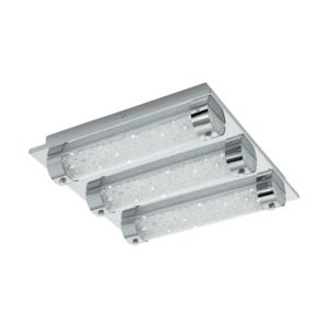 LED плафон аплик с пури с кристали серия Tolorico ( 3 размера) - размер 3