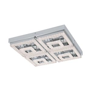 LED плафон от стомана пластмаса и кристали серия Fradelo ( 2 варианта) - вариант 2