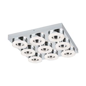 Стилен LED плафон аплик с кристали серия Fradelo (4 варианта) - девятка