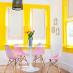 Трапезария с боя в свежи цветове