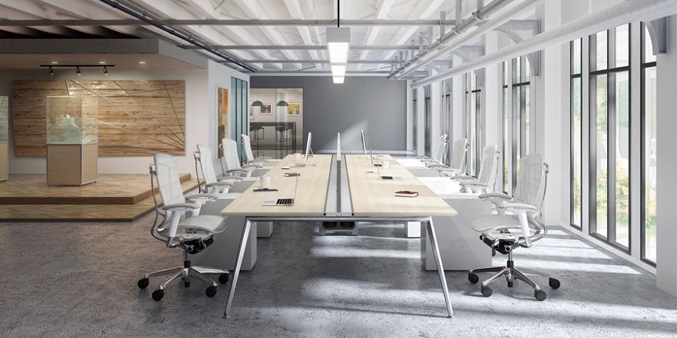Функционални офис мебели - акцент на изложение Светът на мебелите 2020г