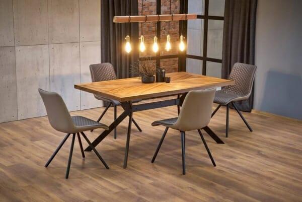Трапезна маса в индустриален стил Тристън