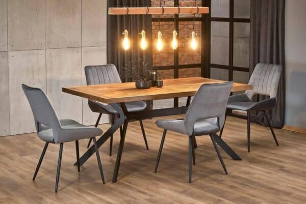 Трапезна маса в индустриален стил Тристън - интериор