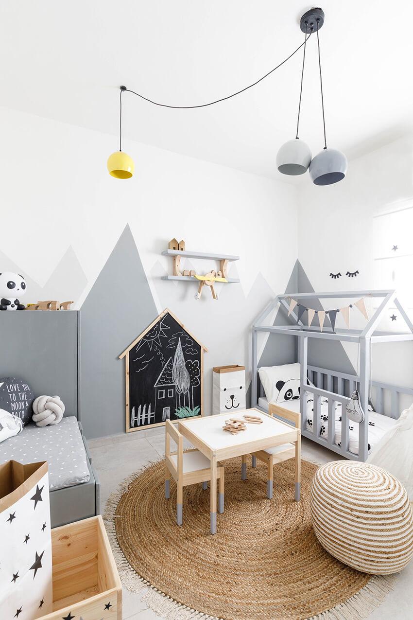 Детска стая в скандинавски стил
