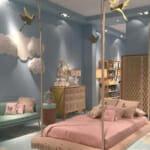 Детска стая като с висящо легло
