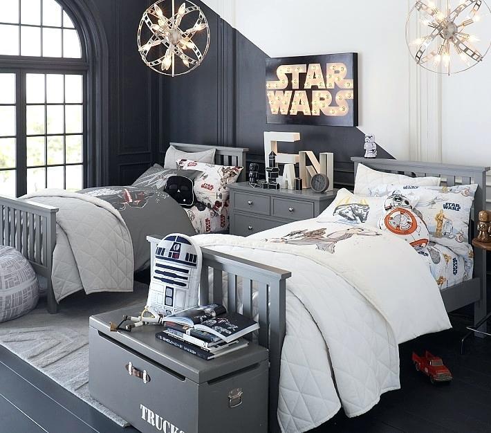 Детска стая с за любители на Междузвездни Войни