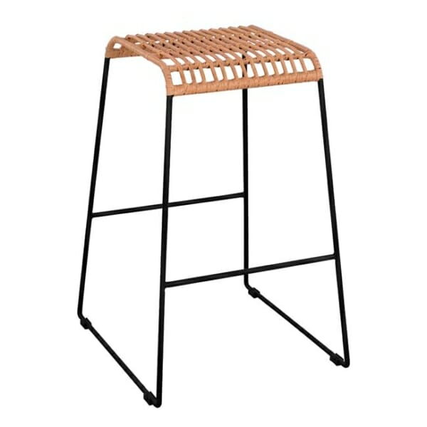Бар стол без облегалка за външна употреба