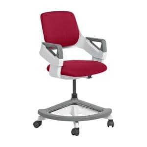 Детски офис стол с повдигащ механизъм (4 цвята)