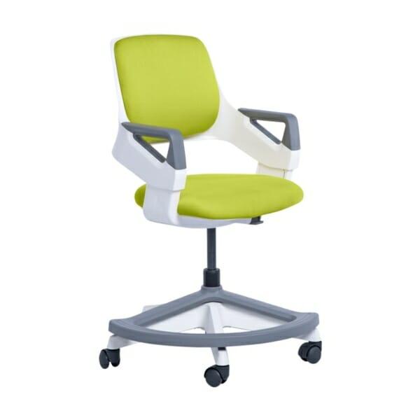 Детски офис стол с повдигащ механизъм (4 цвята) - горчица