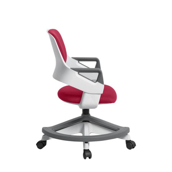 Детски офис стол с повдигащ механизъм (4 цвята) - нисък