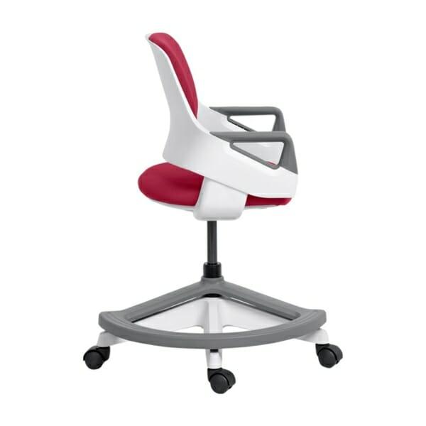 Детски офис стол с повдигащ механизъм (4 цвята) - профил