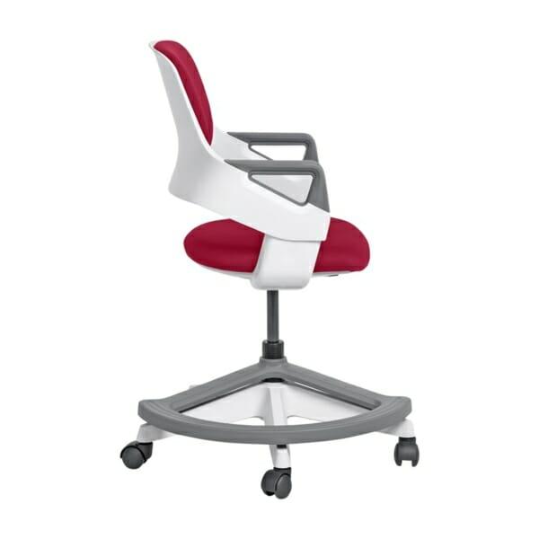 Детски офис стол с повдигащ механизъм (4 цвята) - странично
